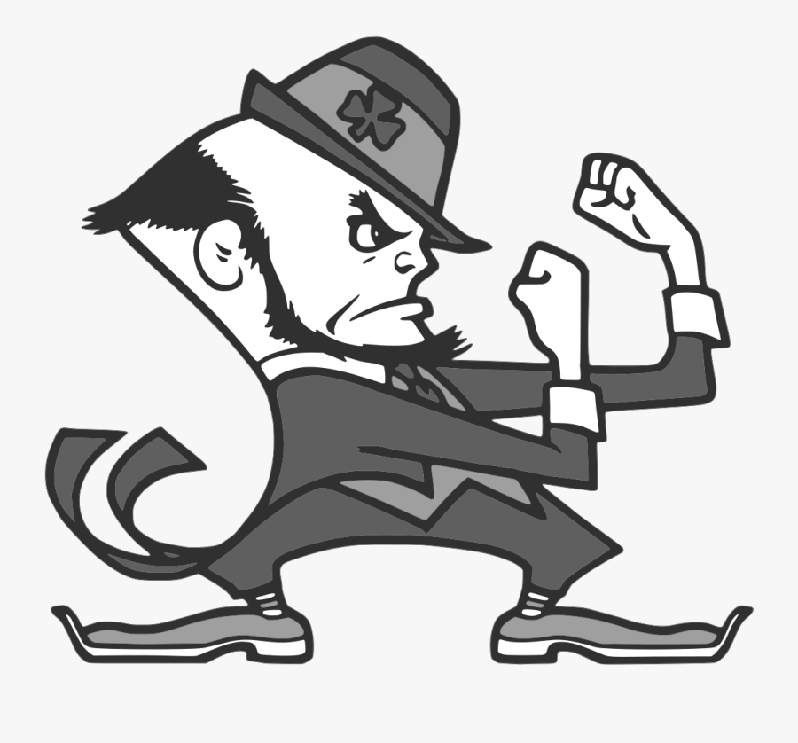 Notre Dame Fighting Irish , Free Transparent Clipart.