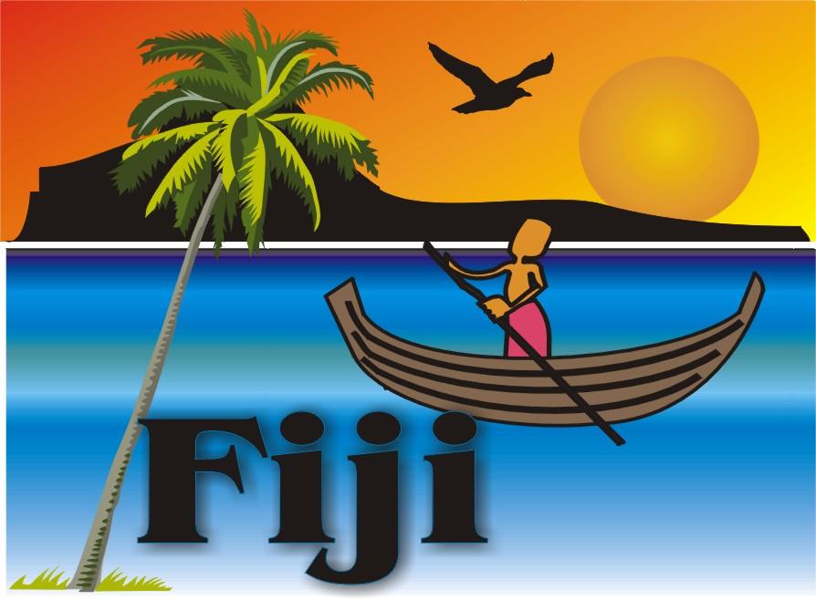 Fiji clipart.
