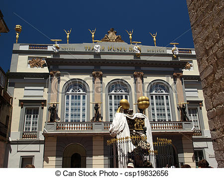 Stock Images of The Dalí Theatre and Museum.