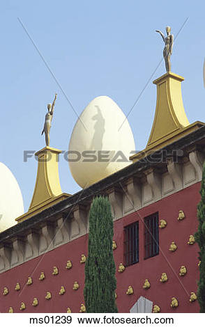 Stock Photograph of Musuem Dali, Figueres, Catalonia, Spain.