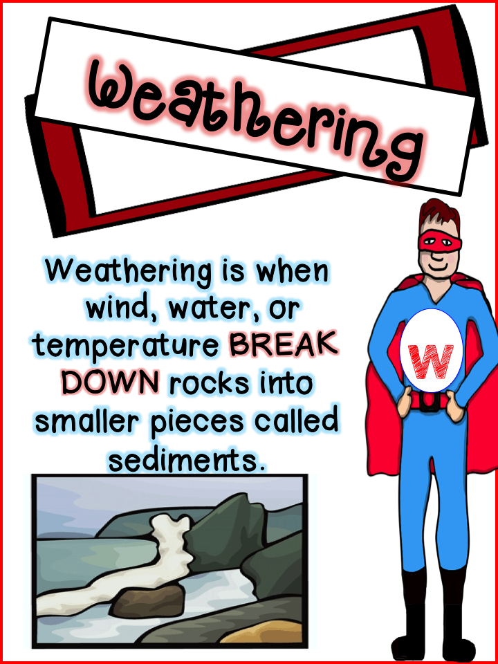 Weathering and erosion, Happenings and 2nd grades on Pinterest.