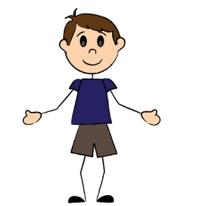 Boy Clipart Stick Figure.
