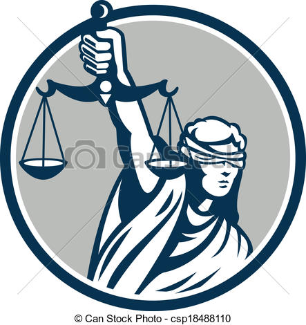 figure of justice clipart clipground