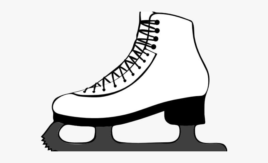 Shoes Clipart Ice Skate.