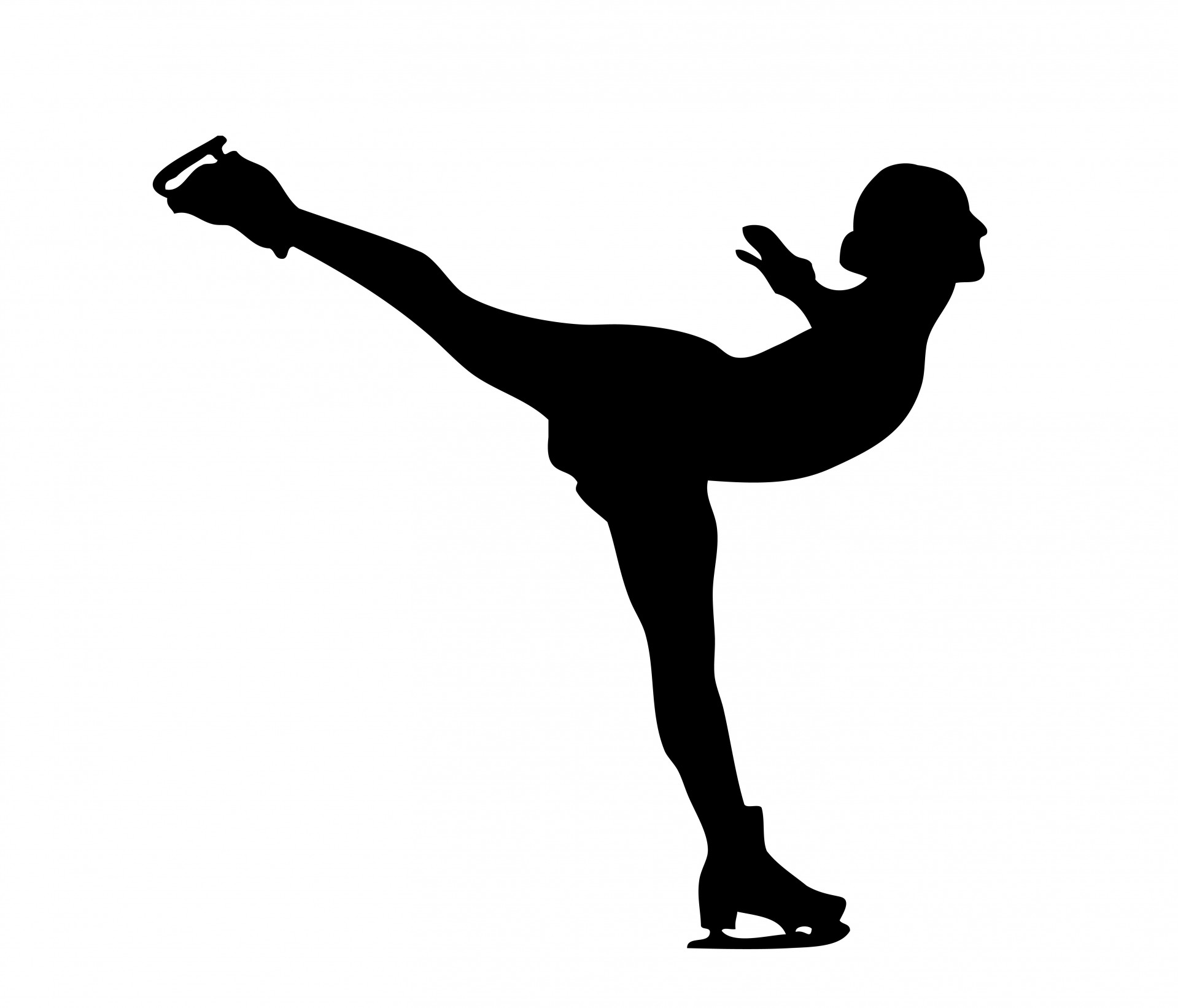 Clipart figure skating.