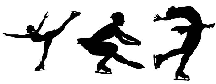 Skating Clipart.