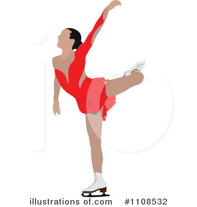 Figure Skating Clipart #1108532.
