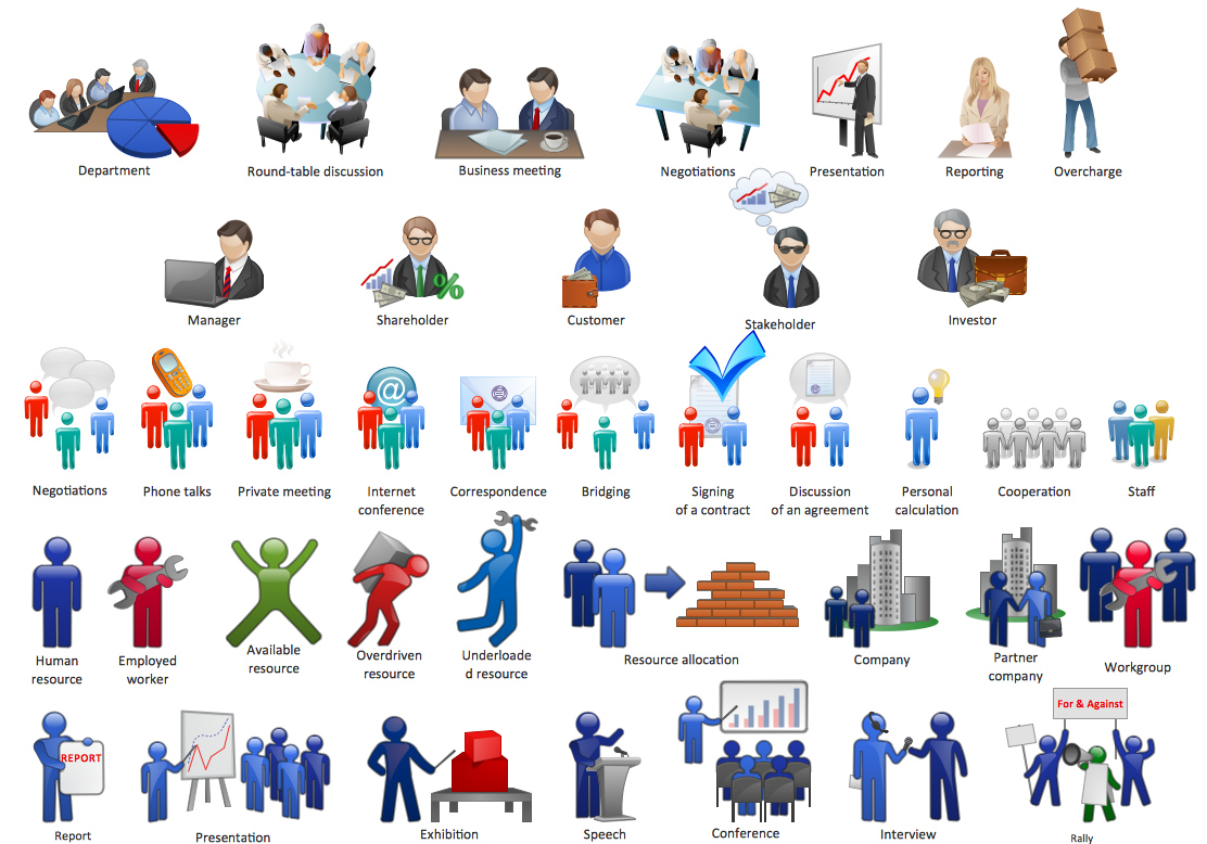 Microsoft Office People Clipart.