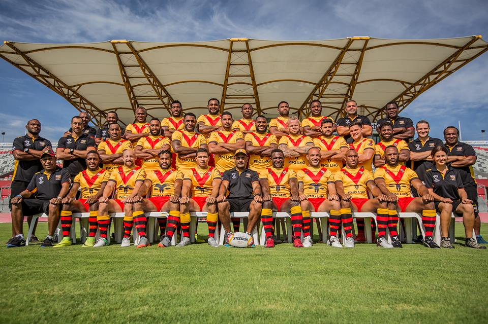 PNG Kumuls squad for Pacific Test against Fiji Bati.