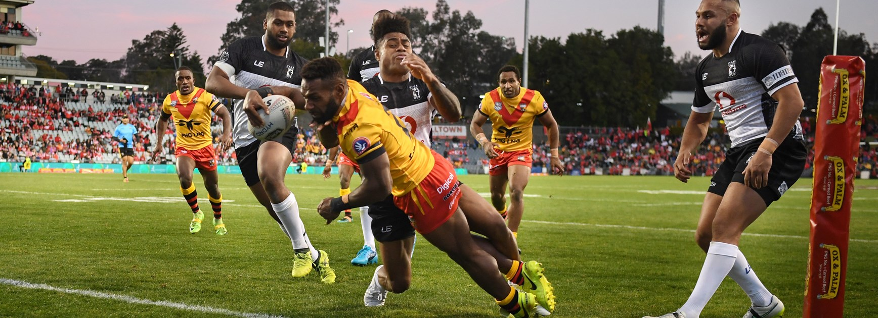 Papua New Guinea start fast to stun Fiji in Pacific Test.