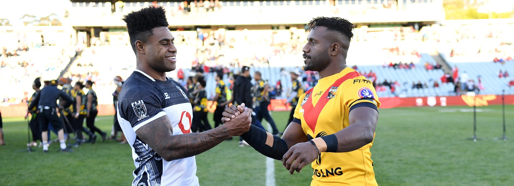 Papua New Guinea stun Fiji with first half blitz.