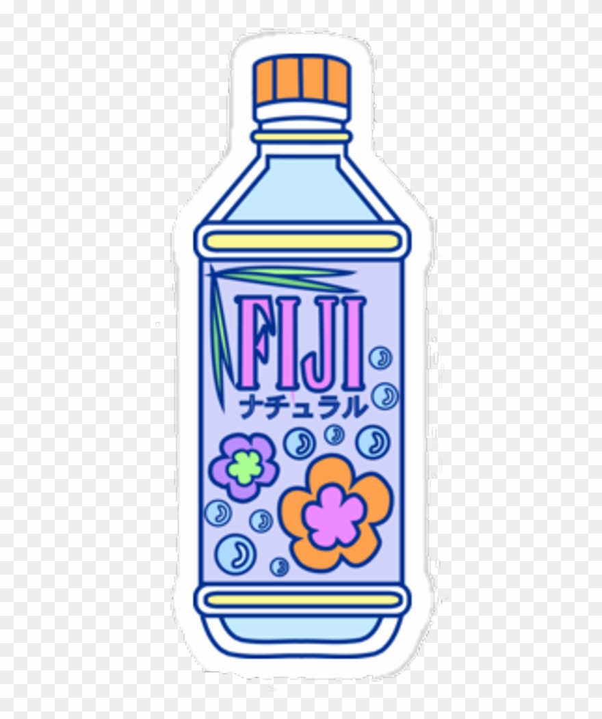 fiji #bottle #water #pixel.