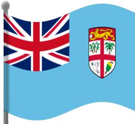 Fiji Flag Waving Clip Art Download.