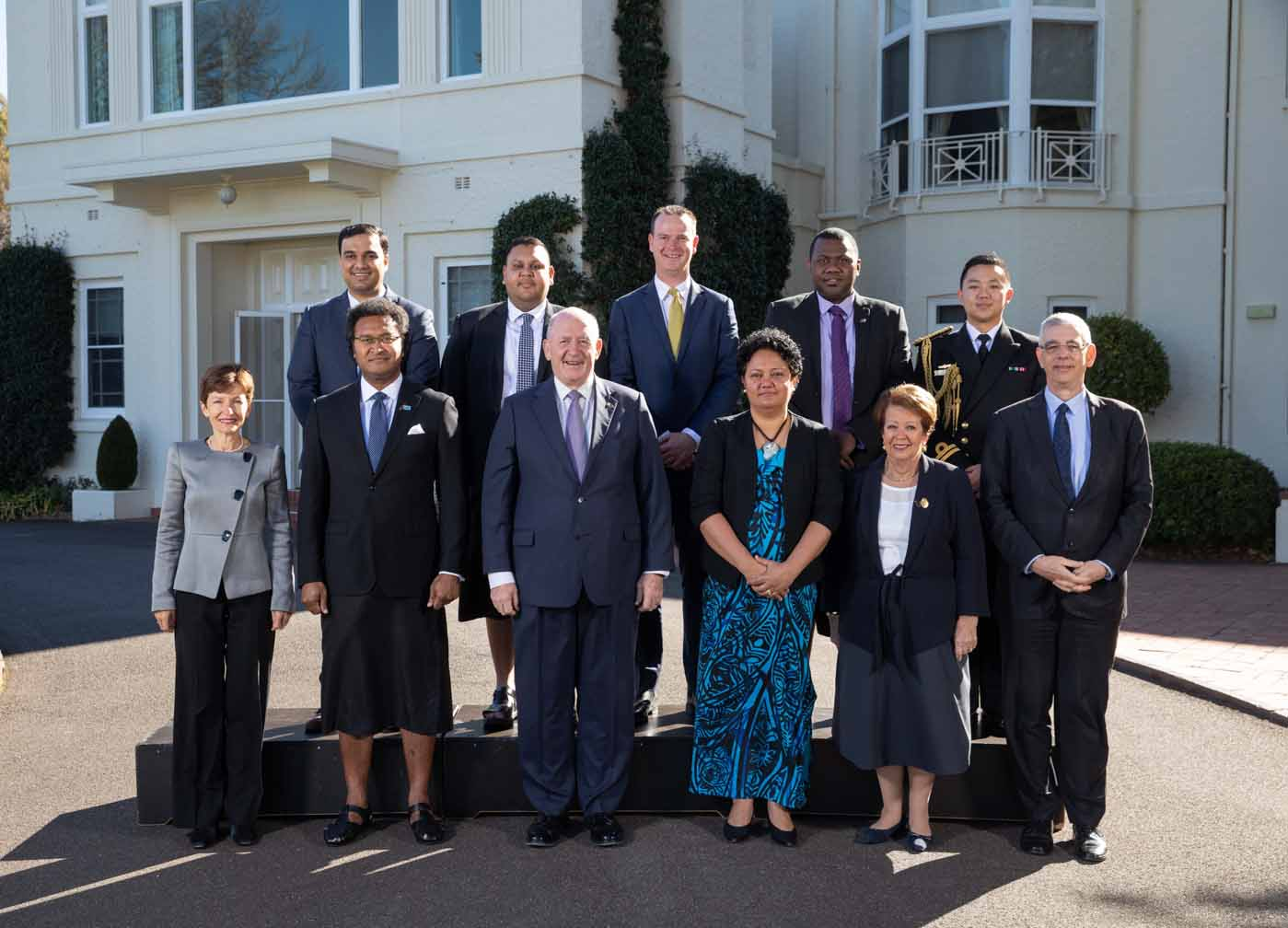 Australia welcomes new Fiji High Commissioner H.E. Luke Daunivalu.