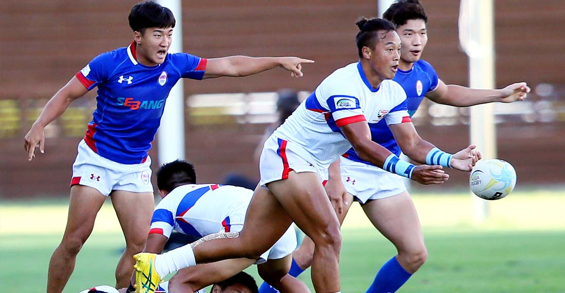Asia Rugby rugby sevens men\'s qualification tournament.