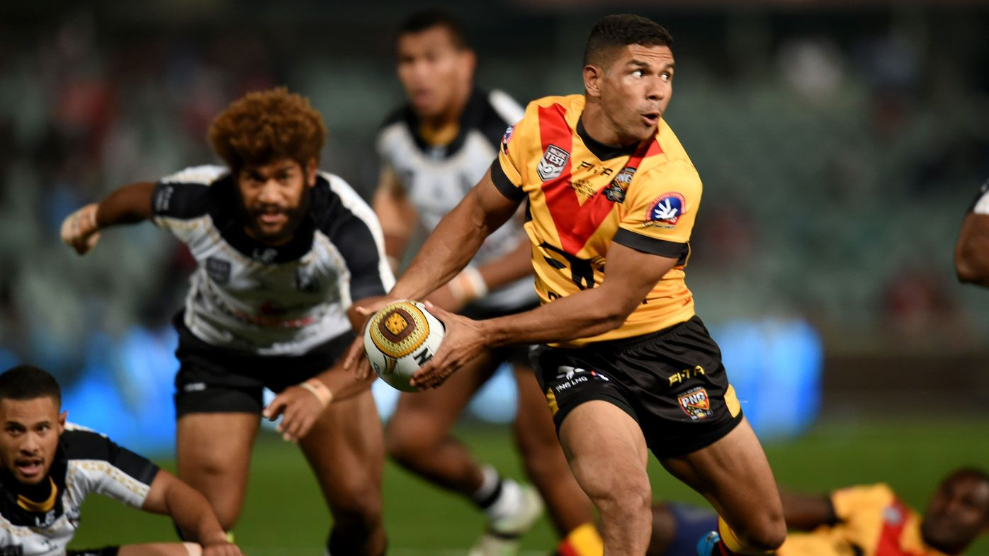PNG stun Fiji in Pacific rugby league Test.