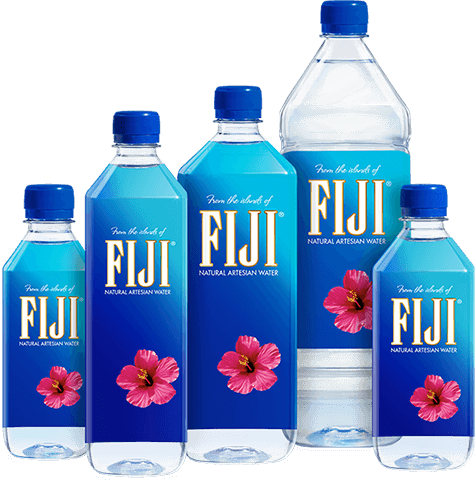 Fiji water bottle png, Fiji water bottle png Transparent.