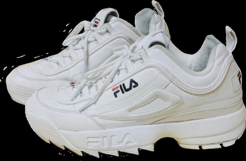 trendy shoes fila vsco basic niche nichememe nichepng.