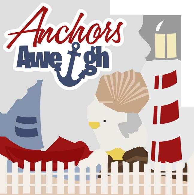 Anchors away clipart.