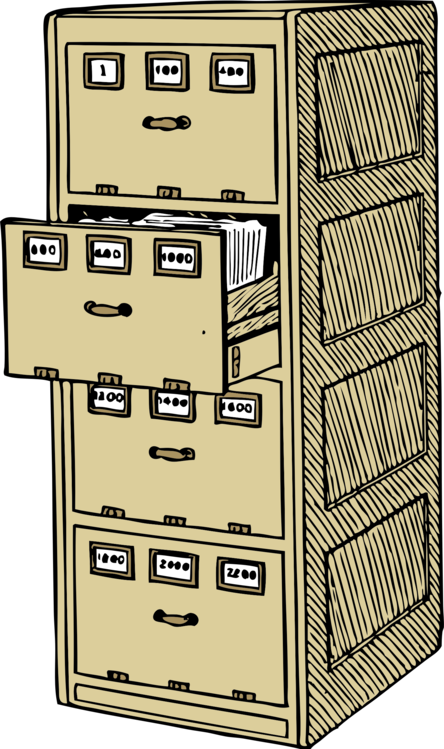 Drawer,Filing Cabinet,Furniture Vector Clipart.