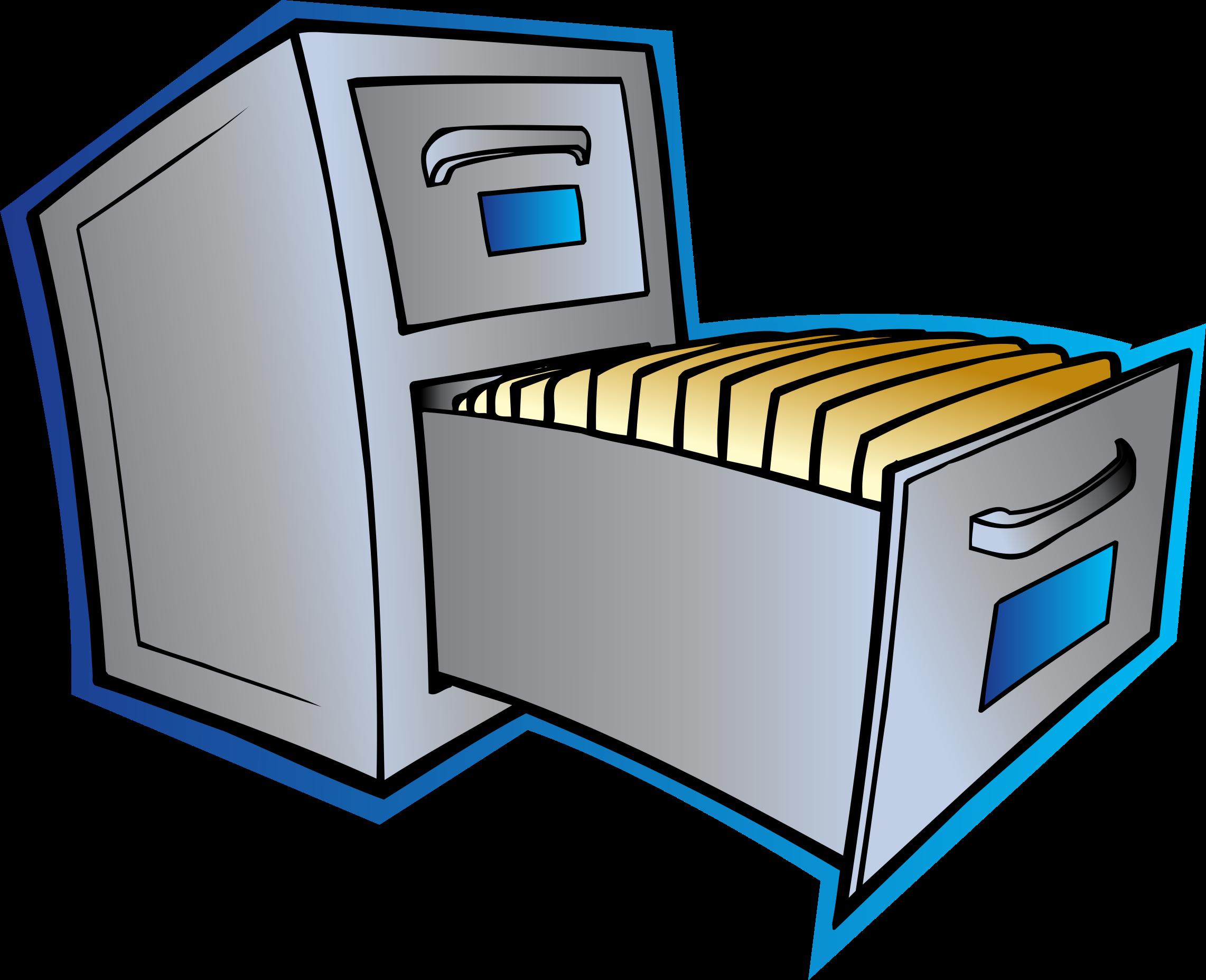 File Cabinet Clipart.