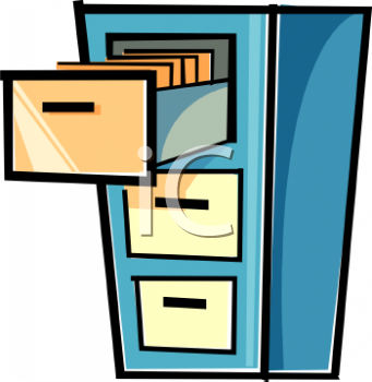 File cabinet bee clipart.