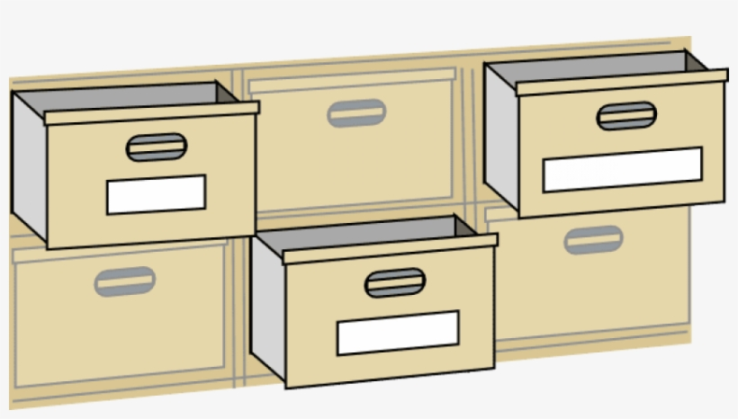 Furniture File Cabinet Drawers Clip Art At Clker Com.