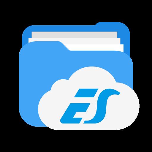 Es file explorer Logo Icon of Flat style.
