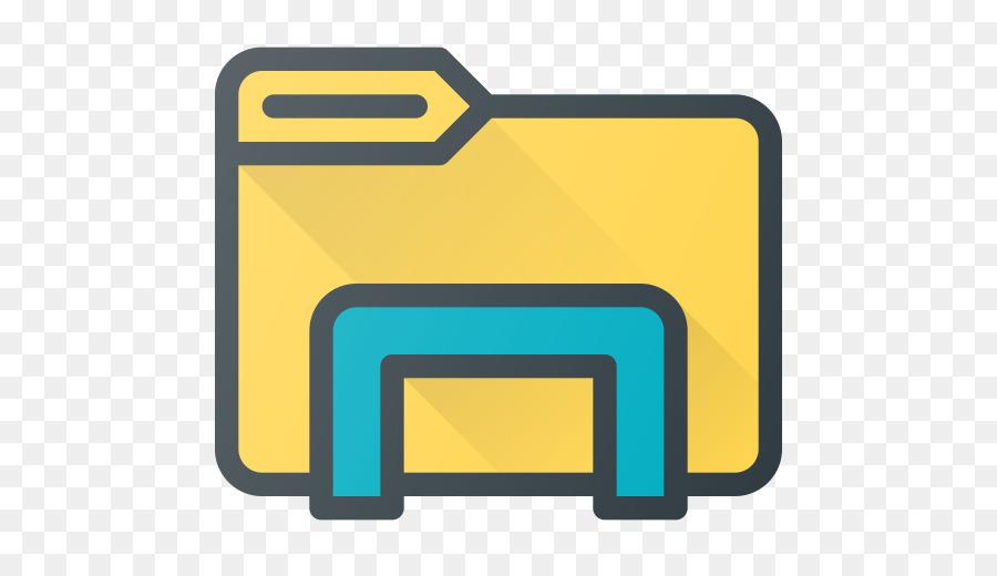 File Explorer Yellow png download.