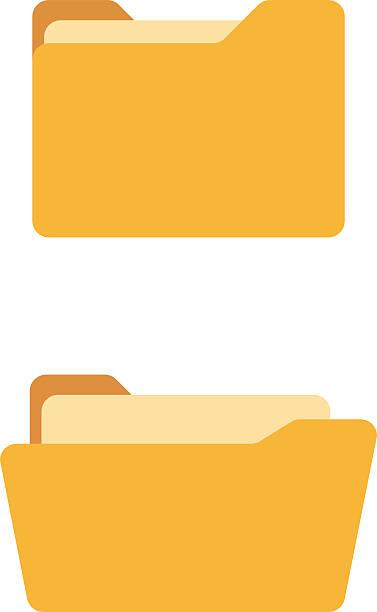 Best File Folder Illustrations, Royalty.
