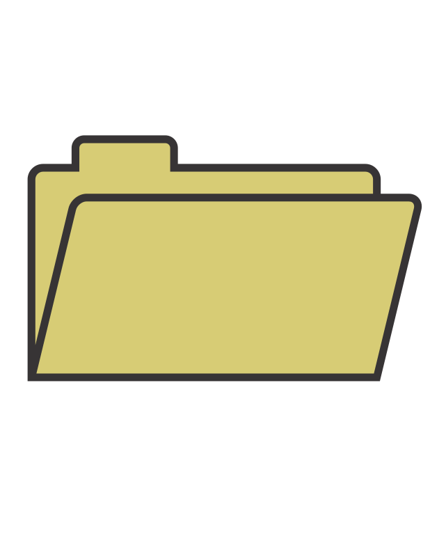 Free Clipart: File Folder.