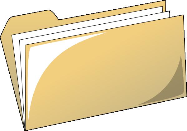 File Folder Cliparts.