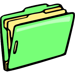 File folders clip art.