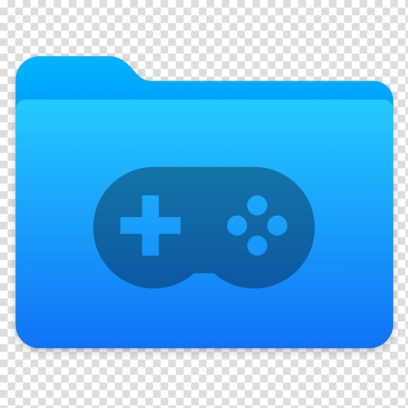 Next Folders Icon, Games, game controller file folder icon.