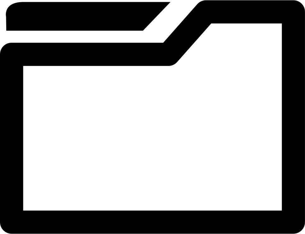 File Folder Svg Png Icon Free Download (#20279).