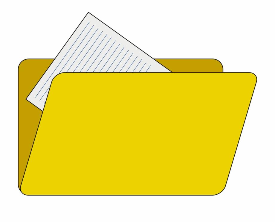 Folder Clipart Paper File.
