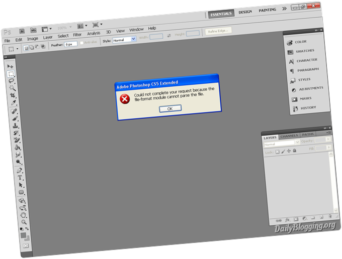File format module cannot parse the file png photoshop 3 » PNG Image.
