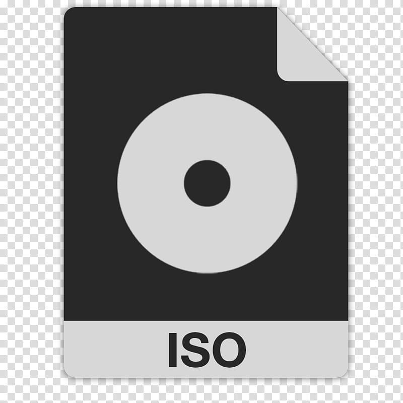 FlatFiles DAEMON Tools iso, black and white ISO file type.