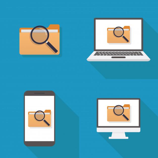 File icon flat design Vector.