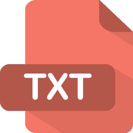 Txt Icon.