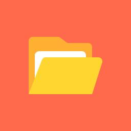Folder Open Icon Flat.