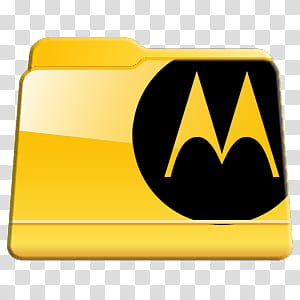 Program Files Folders Icon Pac, Motorola Folder, Motorola.
