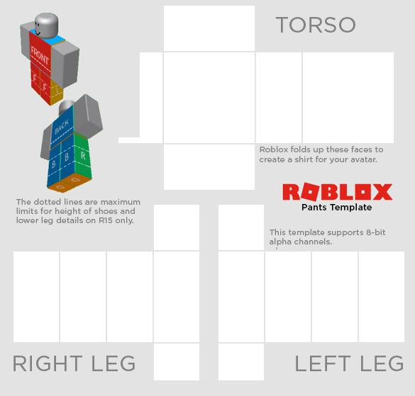 Roblox Shirt Template Transparent Sample.
