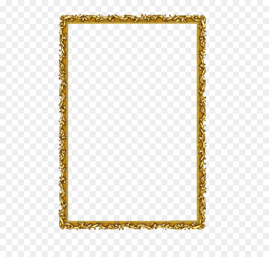 Gold Background Frame png download.