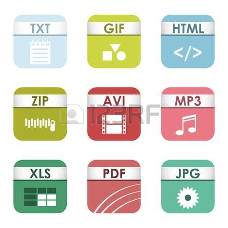 4,774 File Types Stock Vector Illustration And Royalty Free File.