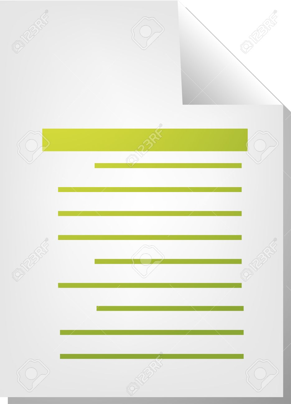 Text Writing Document File Type Illustration Clipart Stock Photo.