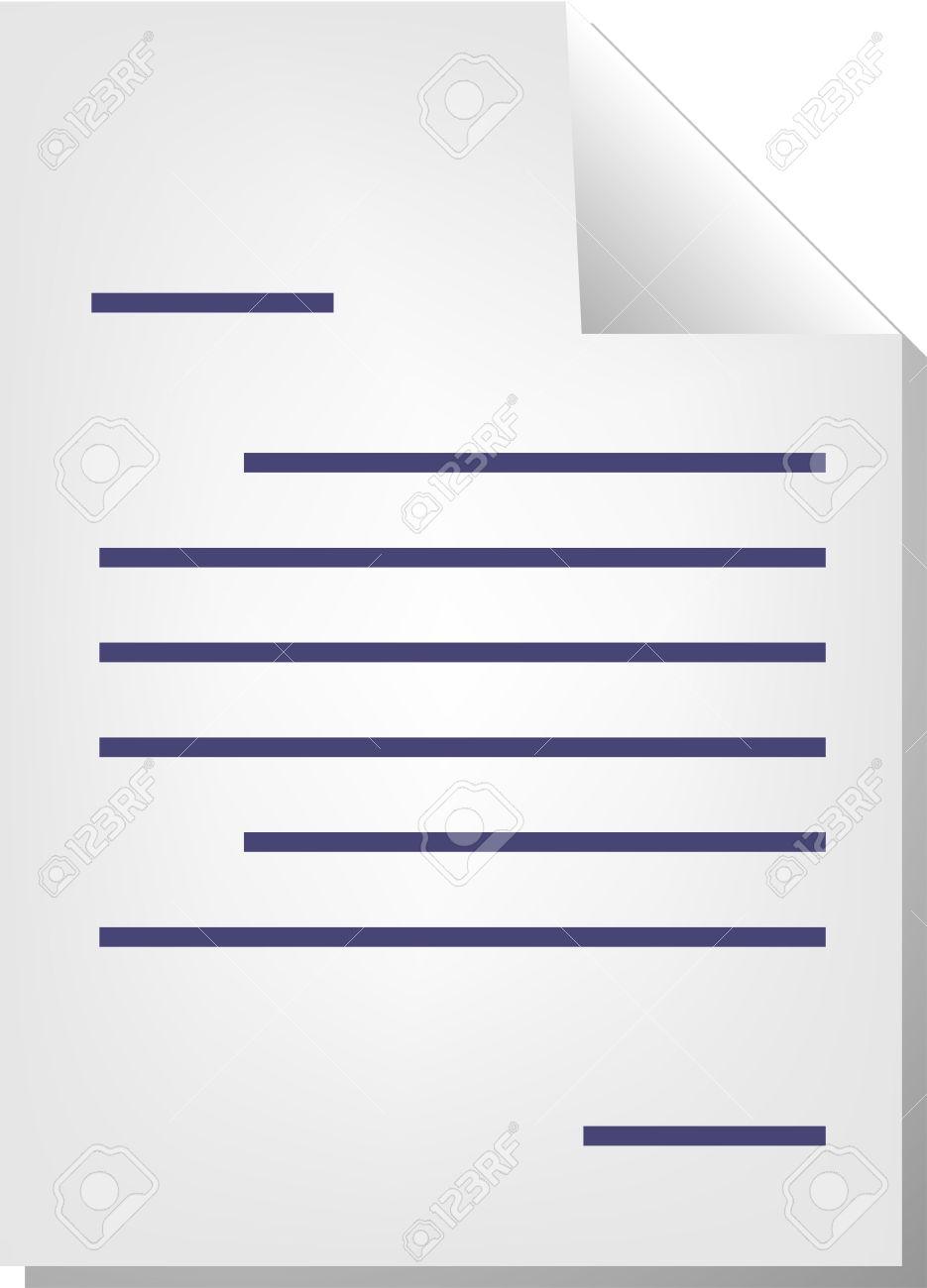 Letter Correspondence Document File Type Illustration Clipart.