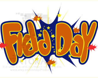 Field Day Vector Kids Clipart Comic Style EPS file.