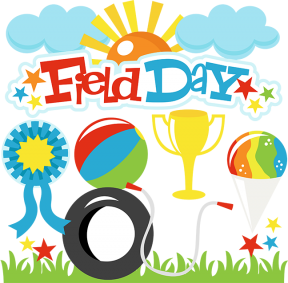 Field Day Vector Kids Clipart Comic Style EPS File By Pixtorals.