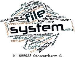 Filesystem Illustrations and Stock Art. 8 filesystem illustration.